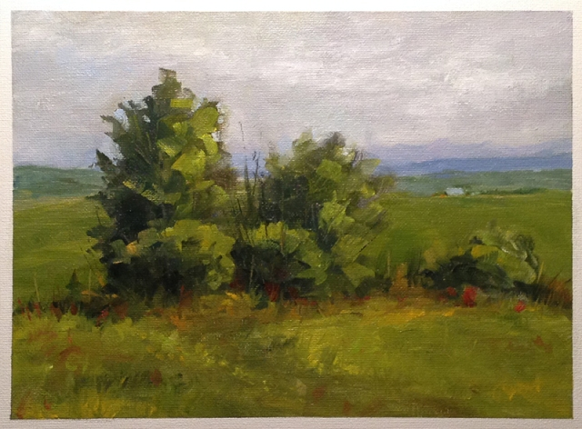 Grant Waddell Oil on Canvas