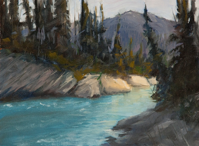 Grant Waddell Oil Painting