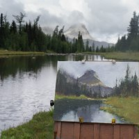 Plein Air Trip To Mount Assiniboine!