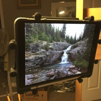 A Painting Mount For My iPad Pro...