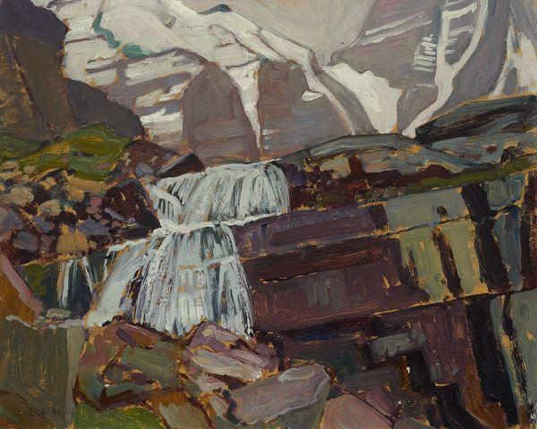 JEH MacDonald - Victoria Falls